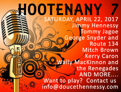 Hootenany 7 Want to play? Contact us at info@DoucetHennessy.com | Vouloir jouer? Contactez-nous au info@DoucetHennessy.com or check us out on FACEBOOK