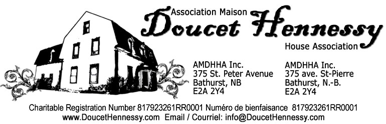 Welcome to / Bienvenu au DoucetHennessy.com, Bathurst, New Brunswick, Nouveau-Brunswick, Doucet, Hennessy, Acadian, Irish, Irlandaise, Scottish, English, Anglais, Aboriginal, First Nations, Auchtochones, Conte Gloucester County, Canada